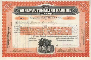 Agnew Automailing Machine Co.