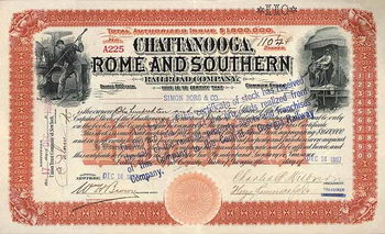 Chattanooga, Rome & Southern Railroad
