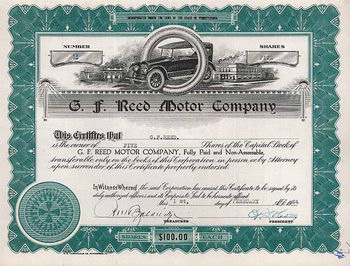 G. F. Reed Motor Co.