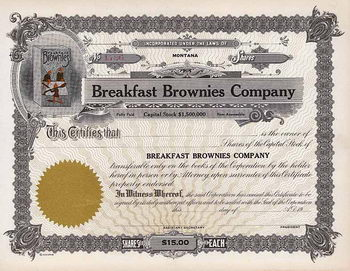 Breakfast Brownies  Co.