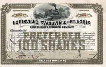 Louisville, Evansville & St. Louis Consolidated Railroad