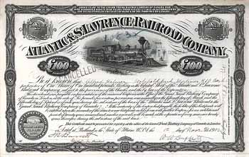 Atlantic & St. Lawrence Railroad