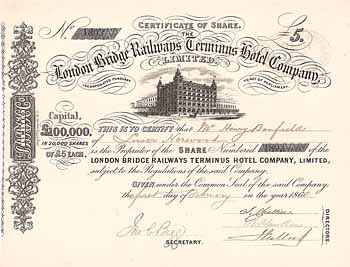 London Bridge Railways Terminus Hotel Co.