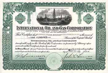 International Oil & Gas Corp.