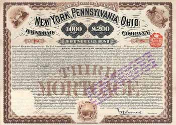 New York, Pennsylvania & Ohio Railroad
