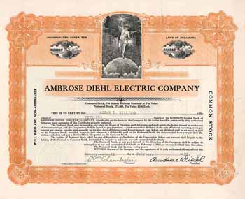 Ambrose Diehl Electric Co.