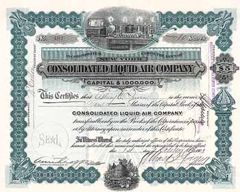 Consolidated Liquid Air Co.