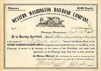 Western Washington Railroad