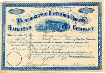 Poughkeepsie, Hartford & Boston Railroad