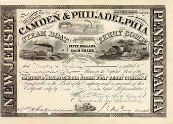 Camden & Philadelphia Steam Boat Ferry Co.