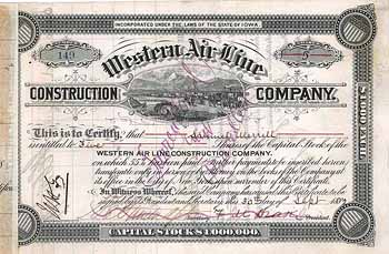 Western Air Line Construction