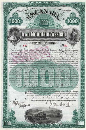 Escanaba, Iron Mountain & Western Railroad