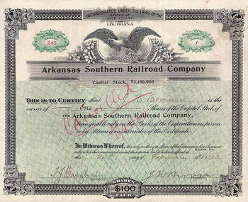 Arkansas Southern Railroad