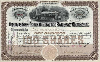 Baltimore Consolidated Railway