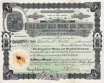 Old Glory Gold Mining and Smelting Co.