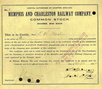 Memphis & Charleston Railway