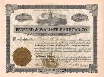 Bedford & Wallner  Railroad