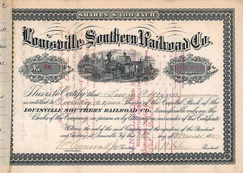 Louisville Southern Railroad