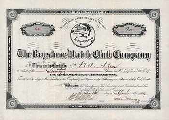Keystone Watch Club Co.