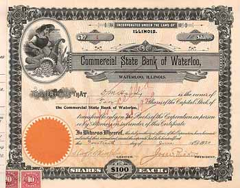 Commercial State Bank of  Waterloo
