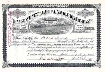 Transcontinental Aerial Navigation Co.