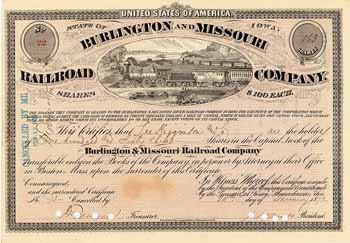 Burlington & Missouri River Railroad