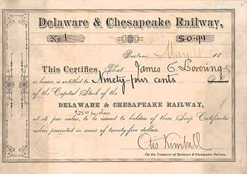 Delaware & Chesapeake Railway