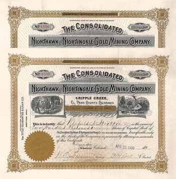 Consolidated Nighthawk & Nightingale Gold Mining Co.