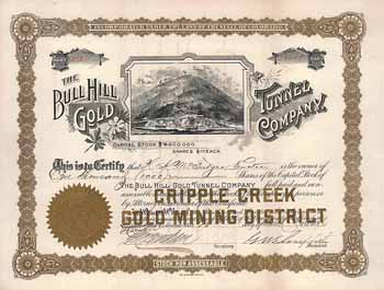 Bull Hill Gold Mining & Tunnel Co.