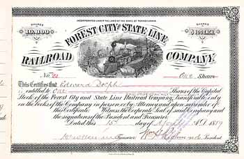 Forest City & State Line Railroad