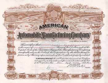 American Automobile Manufacturing Co.