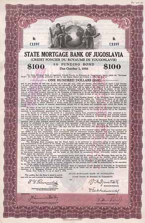 State Mortgage Bank of Jugoslavia