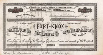 Fort Knox Silver Mining Co.
