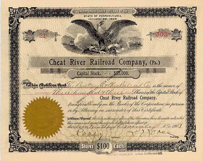 Cheat River Railroad