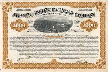 Atlantic & Pacific Railroad