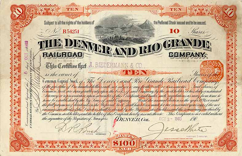 Denver & Rio Grande Railroad