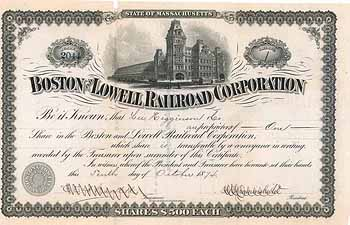 Boston & Lowell Railroad