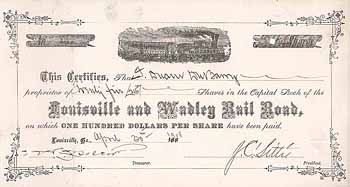 Louisville & Wadley Railroad