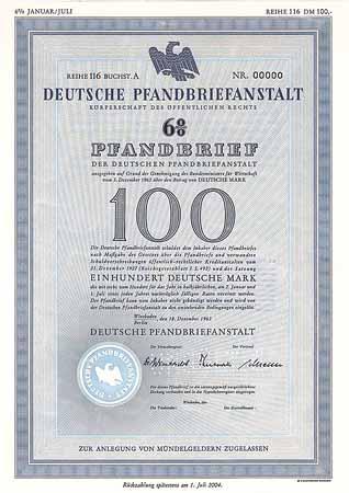 deutsche pfandbriefanstalt aktie