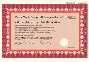 Peter Mack Design AG