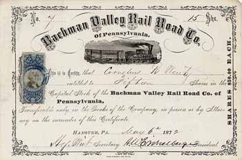 Bachman Valley Railroad