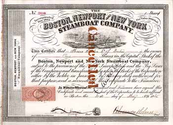 Boston, Newport & New York Steamboat Co.
