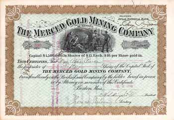 Merced Gold Mining Co. of Montana