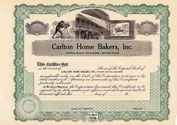 Carlton Home Bakers, Inc.