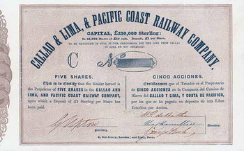 Callao & Lima & Pacific Coast Railway