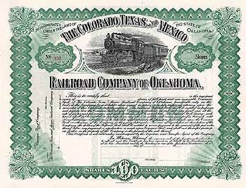 Colorado, Texas & Mexico Railroad Co. of Oklahoma