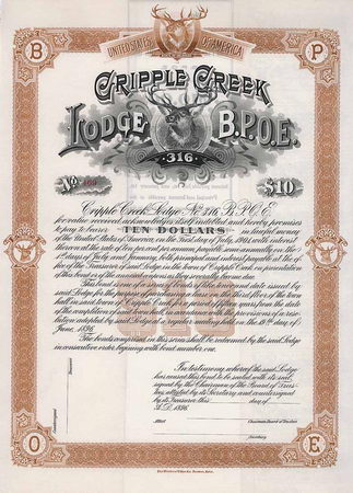 Cripple Creek Lodge No. 316 B.P.O.E.