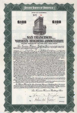 San Francisco Women's Buildung Association