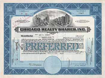 Chicago Realty Shares, Inc.