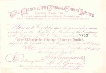 Manchester Carriage Co.